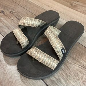 TEVA | Brown Sandals | Size 10
